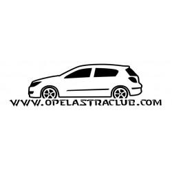 VINILO OPEL ASTRA H 5P