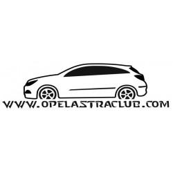 VINILO OPEL ASTRA H 3P GTC